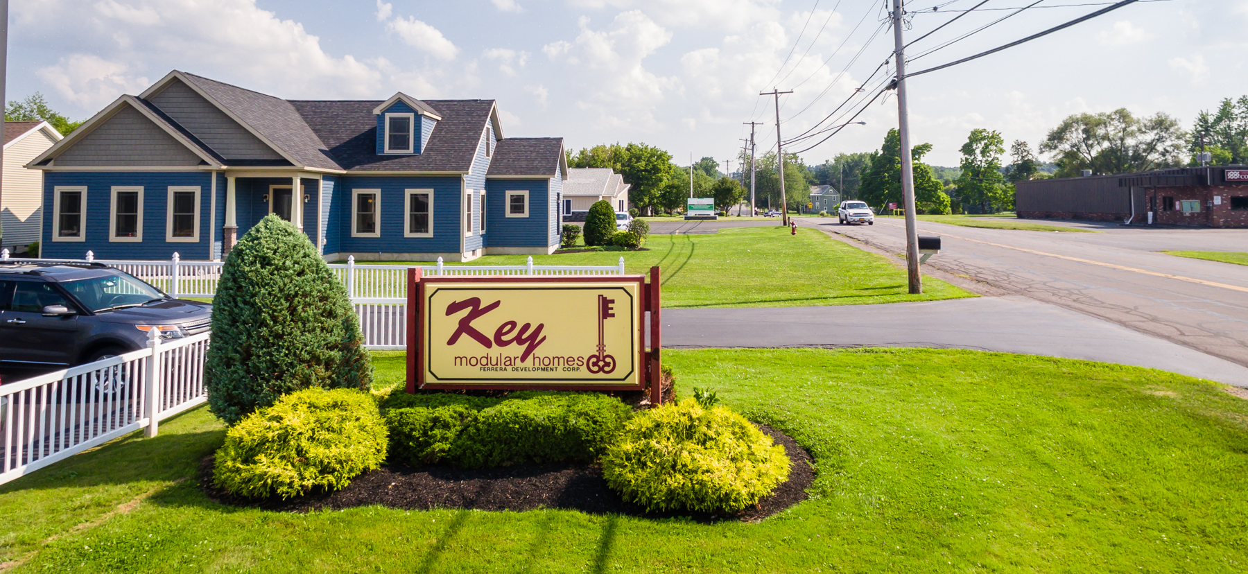 key homes sign