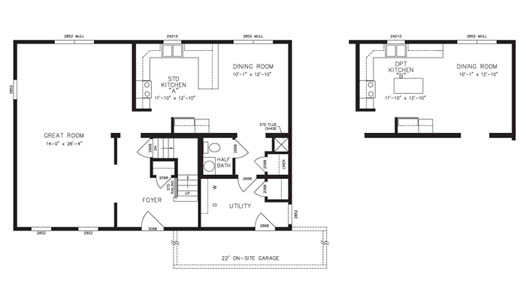 Bay Woods Floor Plan