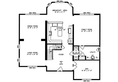 Hillsdale Floor Plan