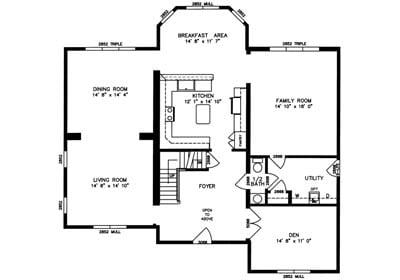 Hillsdale Floor Plan