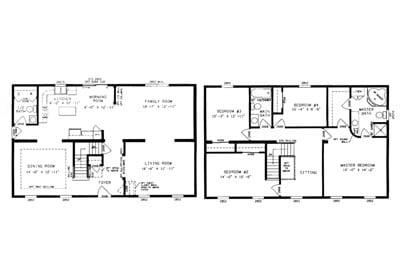 Montauk Floor Plan