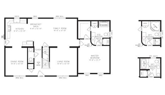 Spring Creek Floor Plan
