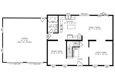 Weston Floor Plan
