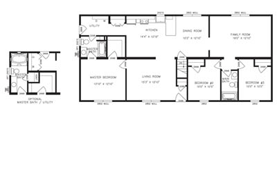 cheswick floor plan