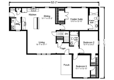 Maryville Floor Plan