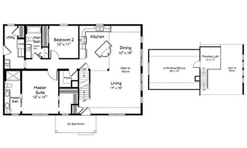 Bayview Floor Plan
