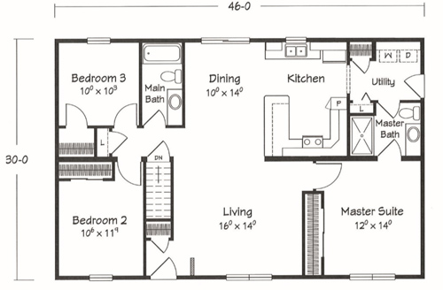 Manchester Floor Plan